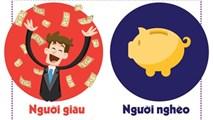 Người giàu khác người nghèo những gì?