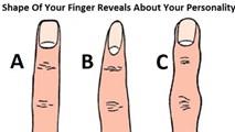 Hình dáng ngón tay tiết lộ tính cách bạn