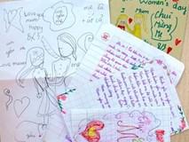 Học sinh viết thư gửi mẹ ngày 8/3 khiến cô giáo xúc động