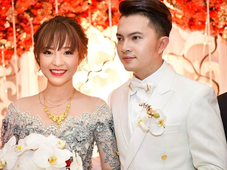 Cận cảnh đám cưới của Nam Cường với nữ sinh ngân hàng