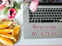 Horoscope ngày thứ Tư (16/3): Song Ngư muốn phá bỏ mọi giới hạn