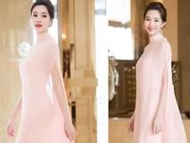 """Hoa hậu Thu Thảo - """"nữ hoàng sắc hồng"""" của showbiz Việt"""