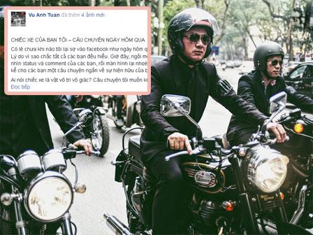 """MC Anh Tuấn kể về """"chiếc xe không nổ máy"""" trong đám tang Trần Lập"""