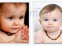 Cho trẻ em đeo các loại trang sức vào cổ sẽ rất nguy hiểm