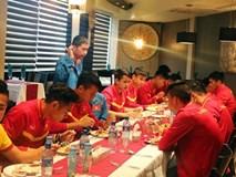 Tuyển Việt Nam được bố trí phòng ăn riêng ở Iran