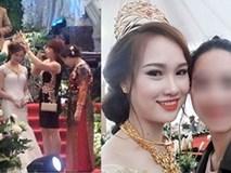 Nàng dâu được mẹ chồng trao vương miện trị giá 100 cây vàng