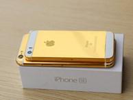 Mạ vàng iPhone SE giá nghìn USD tại Việt Nam