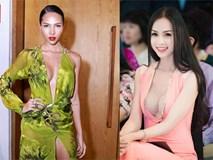 1001 kiểu váy khoét ngực táo bạo của mỹ nữ Việt