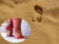 """Đừng vội mừng khi con có dấu chân """"đáng yêu"""""""