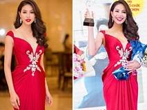 Phạm Hương xinh đẹp tựa nữ thần, được vinh danh 'phụ nữ của năm'