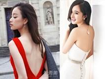 Những mỹ nhân Hoa ngữ sở hữu tấm lưng trần gợi cảm