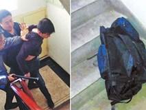 Giải cứu bé gái 7 tuổi bị kẻ bắt cóc nhét vào ba lô kéo khóa, giấu dưới gầm cầu thang