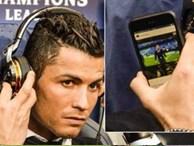 Cách giải sầu hữu hiệu của Ronaldo khi ngồi dự bị trước Man City