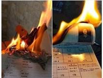 Vụ thanh niên đốt bằng du học: Chơi sốc?