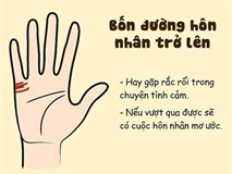 Đường hôn nhân trên bàn tay dự đoán tình duyên cực chuẩn xác