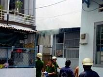 Cô gái ngã xe vào bếp gas làm cháy phòng trọ