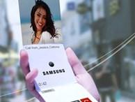 Samsung sắp ra điện thoại có màn hình uốn dẻo như giấy