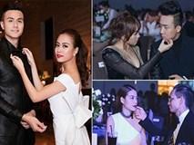 Sao Việt chăm người yêu như 'cục cưng' tại sự kiện