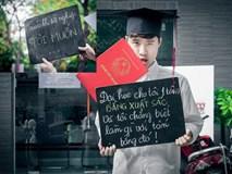Bộ ảnh 'Trước khi tôi tốt nghiệp' gây sốt cộng đồng mạng