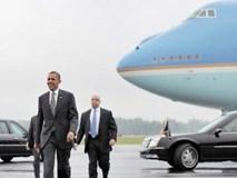 Sân bay Nội Bài đón chuyên cơ Tổng thống Mỹ như thế nào?