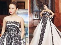 Angela Phương Trinh diện váy lộng lẫy xuất hiện tại Czech