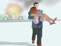 Làm sao để sống sót khi xe bất ngờ bốc cháy?