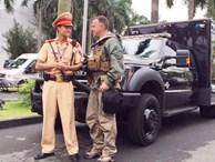 Cảnh sát bật mí 2 nhiệm vụ đặc biệt đưa đón ông Obama