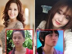 Nhan sắc khác nhau gây giật mình của mỹ nhân Việt ngoài đời và trên màn ảnh