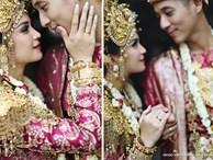 Đám cưới 'dát' vàng của tài tử điển trai nhất Indonesia