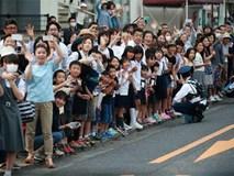 Ở Nhật, người dân cũng xếp hàng và háo hức đón chờ Tổng thống Obama
