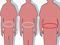 Phát hiện về 'vòng 2' của đàn ông khiến nhiều người phải nhìn xuống bụng