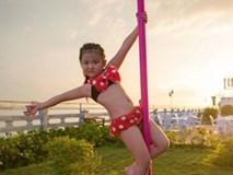 Bé gái 5 tuổi diện bikini múa cột gây tranh cãi