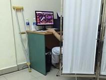 Thực hư bác sĩ Hải Dương chơi game để bà bầu khám thai chờ lâu?