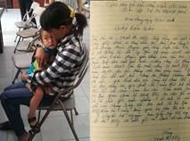 """Mẹ bé 2 tuổi bị bỏ ở quán phở viết đơn bàn giao cho bố vì """"không có khả năng nuôi"""""""
