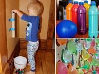 15 trò chơi bố mẹ dễ dàng tự làm để bé thỏa sức vui chơi trong mùa hè nóng nực