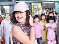 Anandi của 'Cô dâu 8 tuổi' tăng cân khi quay lại Sài Gòn