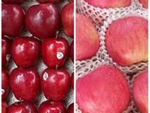 Chủ cửa hàng hoa quả nhập khẩu bày cách phân biệt táo Mỹ và táo Trung Quốc