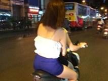 Gái bán dâm ở Hà Nội chuyển sang đi xe đạp điện mời khách