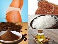 Công thức tự nhiên đánh bật da sần vỏ cam vùng đùi, bụng, mông hiệu quả