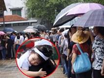 Trời Thủ đô khóc mưa tiễn biệt các liệt sĩ Casa 212