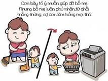 Thói quen 'khó tha thứ' của bố mẹ dễ làm hư con