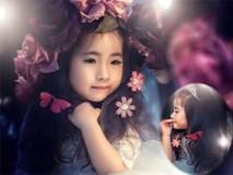 Vẻ xinh đẹp của bé gái Việt khiến mẹ nào cũng muốn có con gái