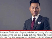 MC Thành Trung bị cướp giật hết tiền và giấy tờ khi ở Sài Gòn
