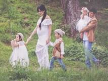 Vợ Lý Hải khoe bụng bầu 9 tháng trước khi lâm bồn