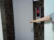 Kẻ lạ mặt theo cô gái vào thang máy chung cư táo tợn xịt hơi cay