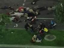 Xác người la liệt ở hiện trường khủng bố tại Pháp