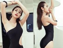 Diệp Bảo Ngọc tự tin khoe vòng eo 58cm với bikini