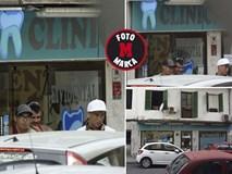 Ronaldo trị thương đầu gối ở phòng khám răng