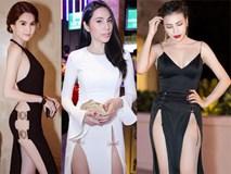 Những bộ váy không hiểu mặc nội y như thế nào của sao Việt