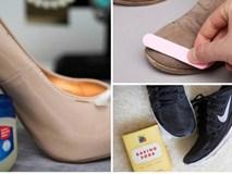 Có mẹo này, mọi đôi giày dù bị cũ, mốc hay xước cũng trở nên mới toanh